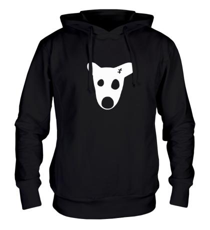 Толстовка с капюшоном Собака Дурова