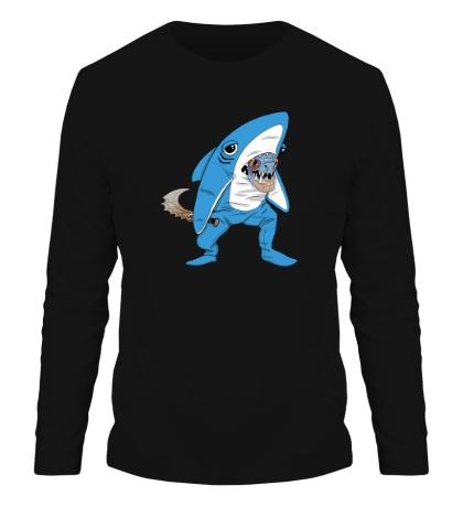 Мужской лонгслив Left Shark