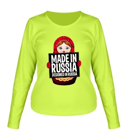 Женский лонгслив Made in Russia