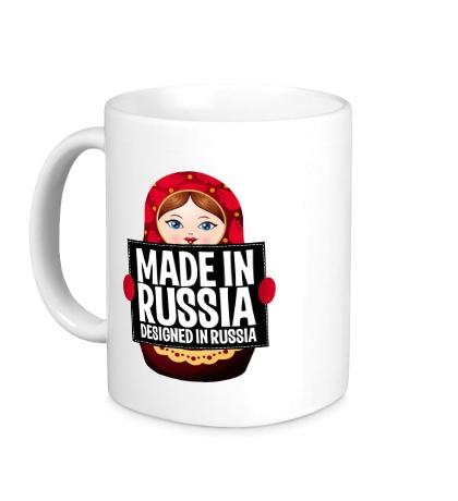 Керамическая кружка Made in Russia