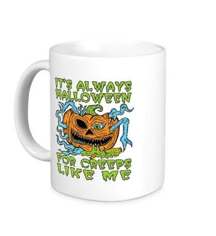 Керамическая кружка Halloween Creep