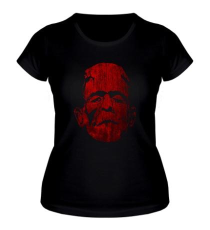 Женская футболка Кровавый Франкенштейн