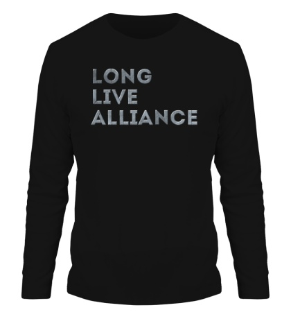 Мужской лонгслив Long Life Alliance