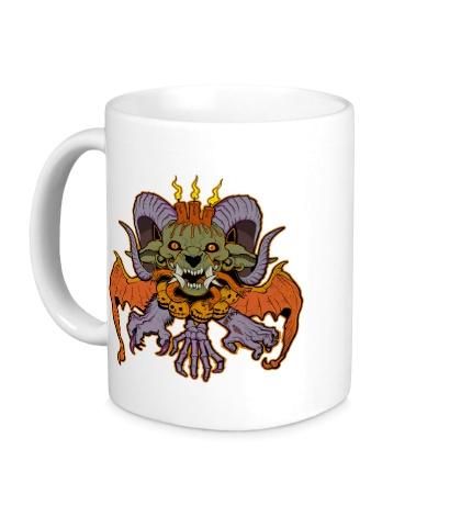 Керамическая кружка Evil Halloween