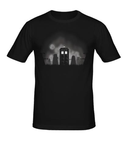 Мужская футболка Time Lords Halloween