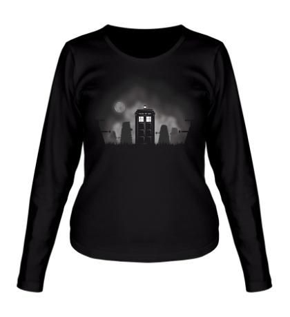 Женский лонгслив Time Lords Halloween