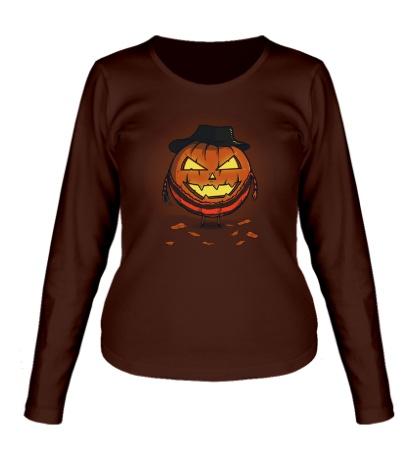 Женский лонгслив A Nightmare on Halloween
