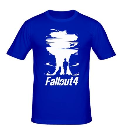 Мужская футболка Fallout 4: Atom Bomb