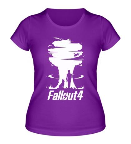 Женская футболка Fallout 4: Atom Bomb