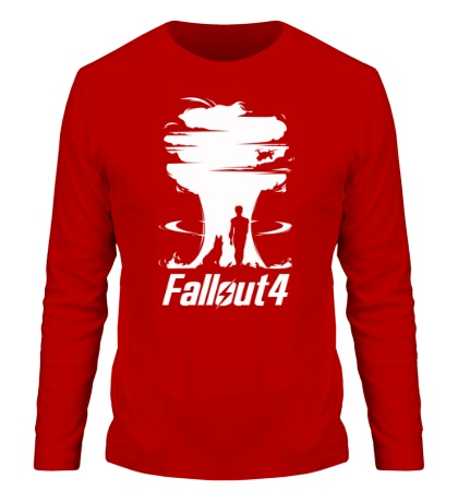 Мужской лонгслив Fallout 4: Atom Bomb