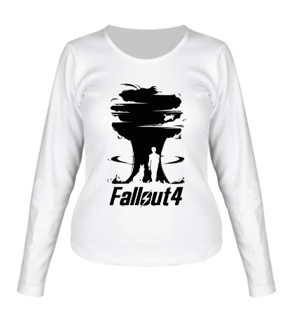 Женский лонгслив Fallout 4: Atom Bomb