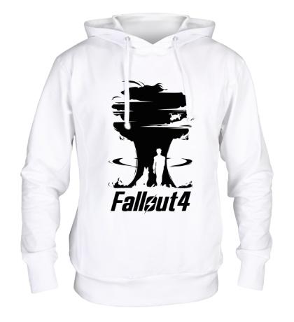 Толстовка с капюшоном Fallout 4: Atom Bomb
