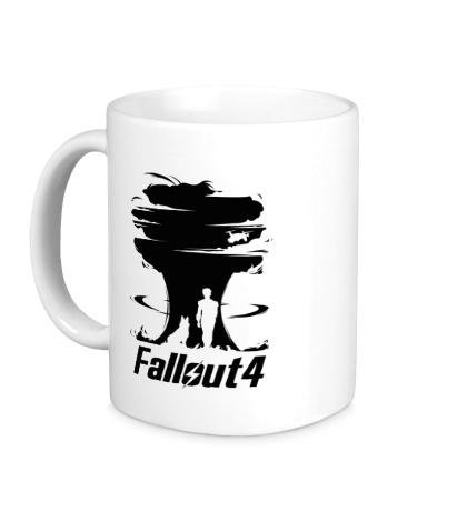Керамическая кружка Fallout 4: Atom Bomb