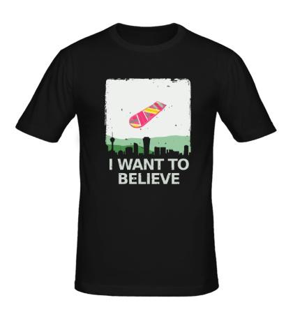 Мужская футболка I want to Belive