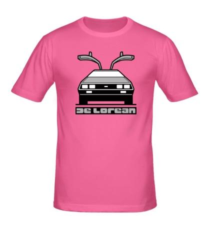 Мужская футболка DeLorean DMC-12