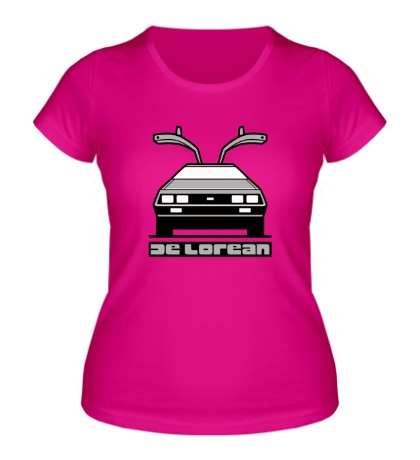Женская футболка DeLorean DMC-12