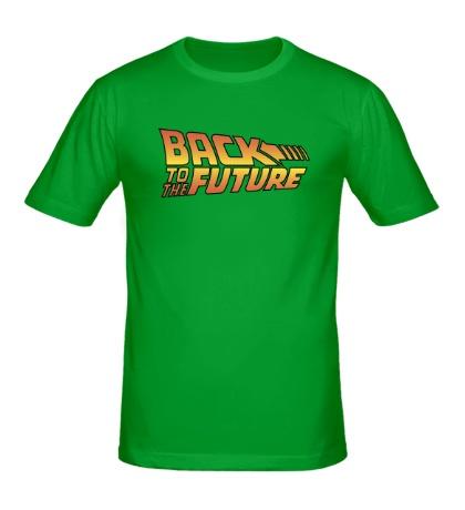 Мужская футболка Назад в будущее