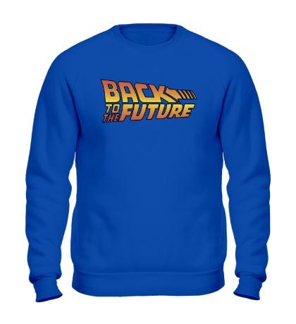 Свитшот «Назад в будущее»