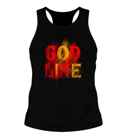 Мужская борцовка «God like distortion»