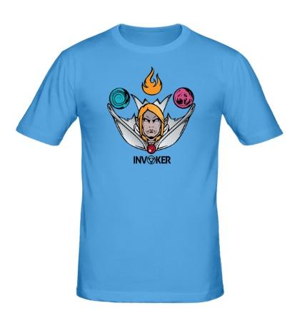 Мужская футболка Invoker of Magic