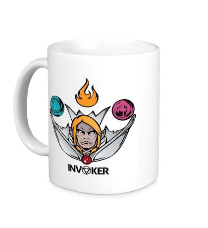 Керамическая кружка «Invoker of Magic»