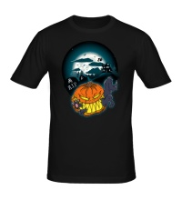 Мужская футболка Halloween Snack