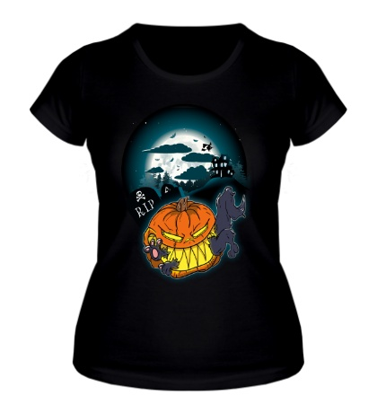 Женская футболка «Halloween Snack»