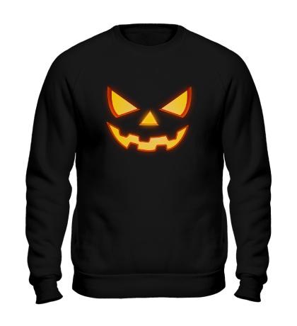 Свитшот Хеллоуинское лицо