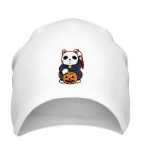 Шапка Хеллоуинский кот