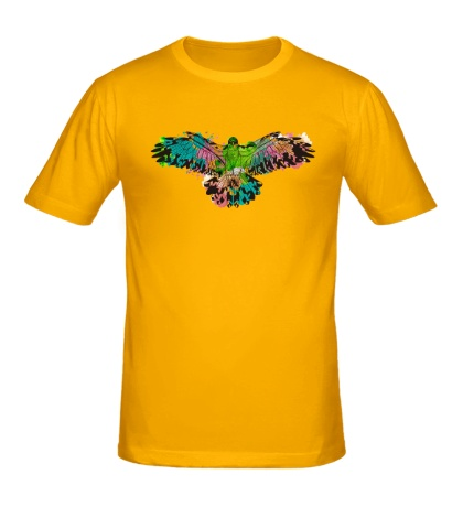 Мужская футболка Силуэт орла