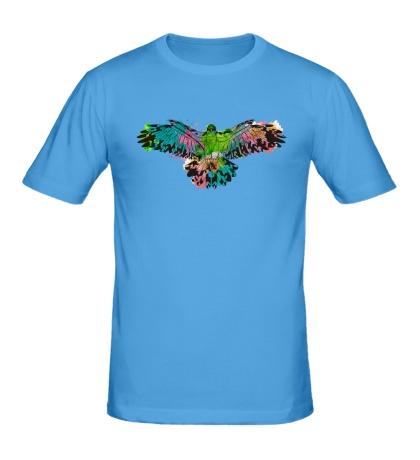 Мужская футболка «Силуэт орла»