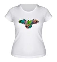 Женская футболка Силуэт орла