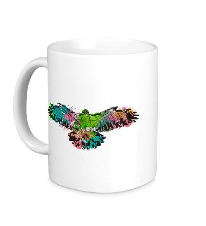 Керамическая кружка Силуэт орла