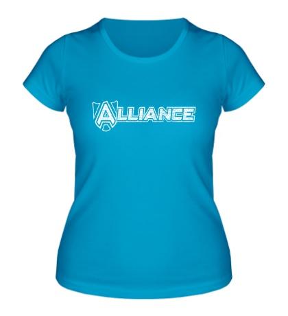 Женская футболка Alliance Team