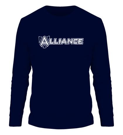 Мужской лонгслив «Alliance Team»