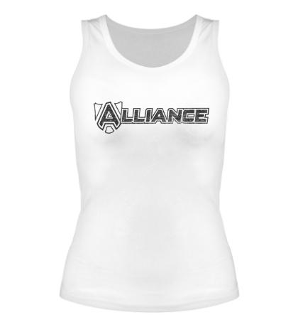Женская майка Alliance Team