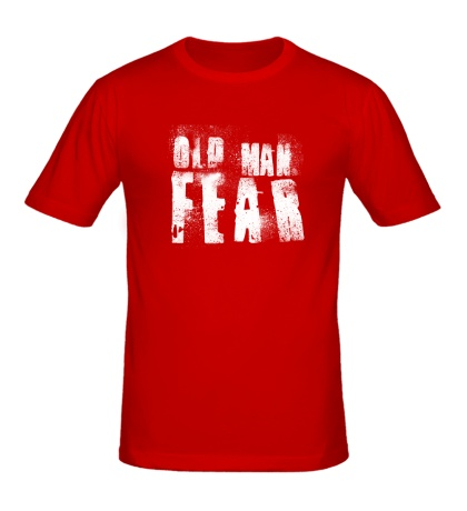 Мужская футболка Old Man Fear