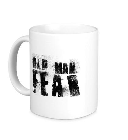 Керамическая кружка Old Man Fear