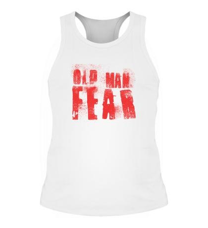 Мужская борцовка Old Man Fear Red