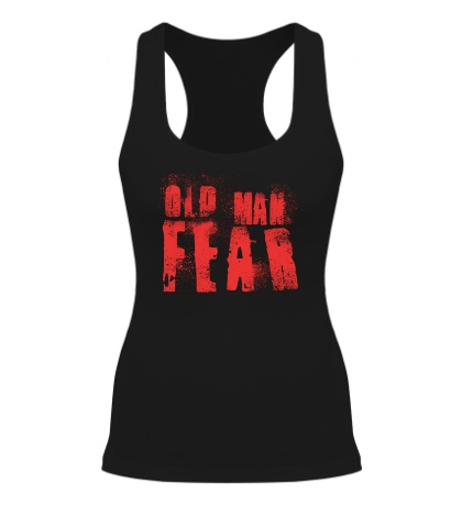 Женская борцовка Old Man Fear Red