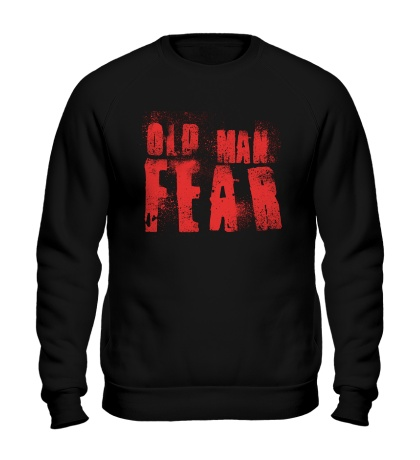 Свитшот Old Man Fear Red