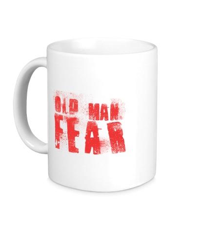 Керамическая кружка Old Man Fear Red