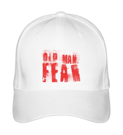 Бейсболка Old Man Fear Red