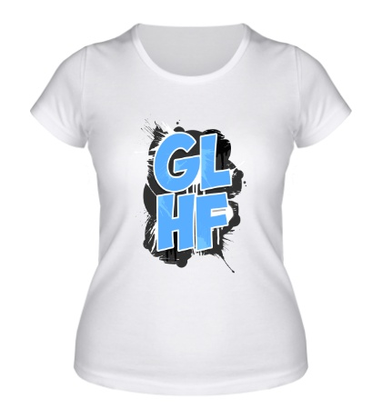 Женская футболка GLHF