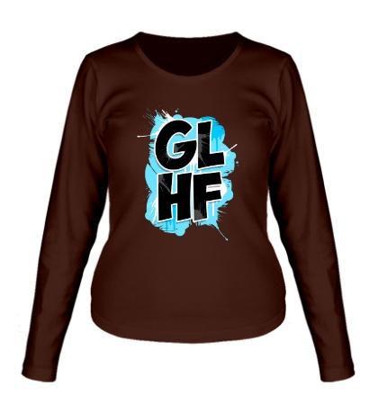 Женский лонгслив GLHF