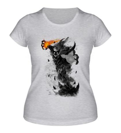 Женская футболка Shadow Fiend