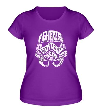 Женская футболка Fight the Rebels