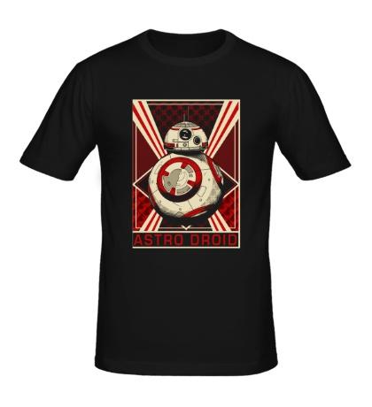 Мужская футболка Astro Droid Poster