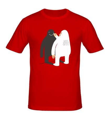 Мужская футболка Улыбнись дружок