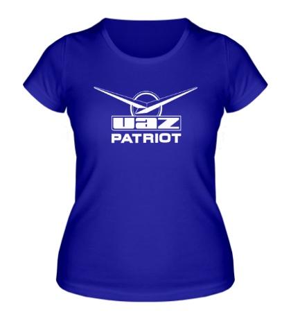 Женская футболка Уаз Патриот